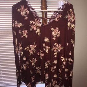 Daytrip long sleeve blouse.